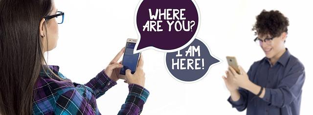 komunikace smartphone