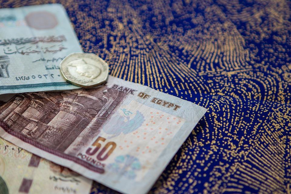peníze Egypta